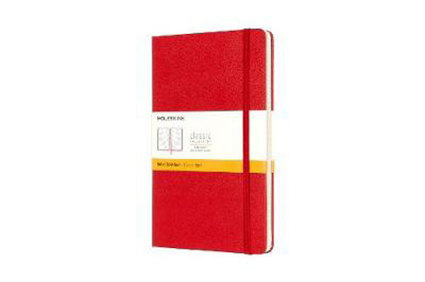 Picture of Moleskine Large Ruled Notebook Red