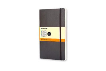 Picture of Moleskine Soft Large Ruled Notebook Black