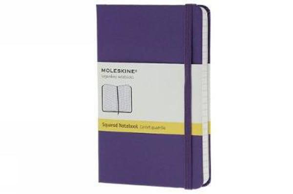 Picture of Moleskine Brilliant Violet Pocket Square Notebook Hard