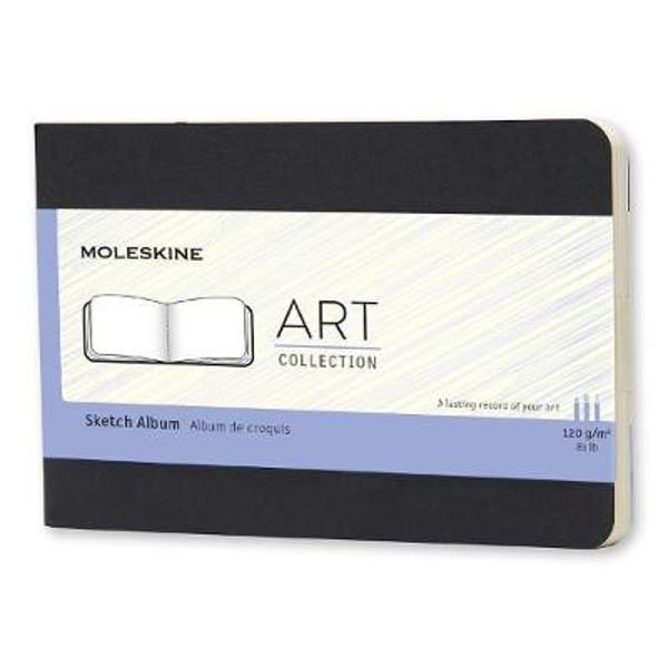 Picture of Moleskine Pocket Art Plus Cahier Sketch Album Black