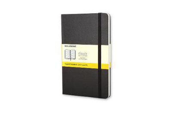 Picture of Moleskine Pocket Squared Hardcover Notebook Black
