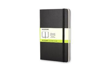 Picture of Moleskine Large Plain Notebook Black