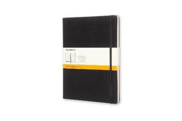 Picture of Moleskine Extra Large Ruled Notebook Hard Black