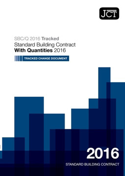 Picture of JCT: Standard Building Contract with Quantities 2016 (SBCQ) TCD