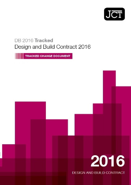 Picture of JCT: Design and Build Contract 2016 Tracked Change Document