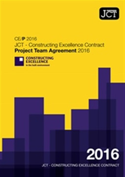 Picture of JCT Constructing Excellence Contract - Project Team Agreement 2016 (CE/P)