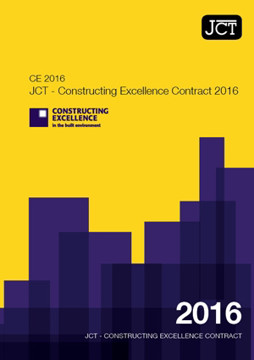 Picture of JCT Constructing Excellence Contract 2016 (CE)