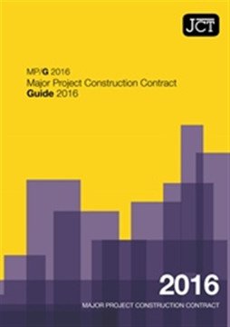 Picture of JCT: Major Project Construction Contract Guide 2016