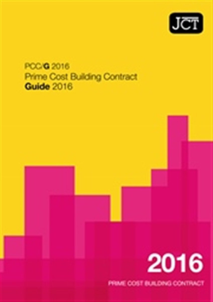Picture of JCT: Prime Cost Building Contract Guide 2016
