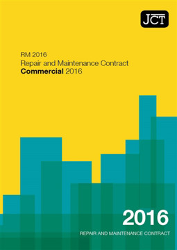 Picture of JCT:Repair and Maintenance Contract Commercial 2016