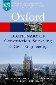 Picture of A Dictionary of Construction, Surveying, and Civil Engineering
