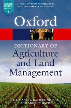 Picture of A Dictionary of Agriculture and Land Management