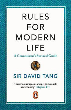 Picture of Rules for Modern Life: A Connoisseur's Survival Guide