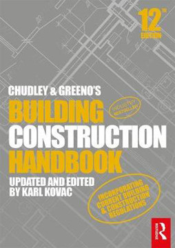 Picture of Chudley and Greeno's Building Construction Handbook 12th Edition