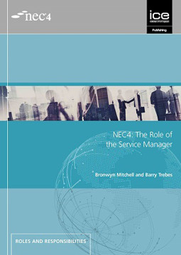 Picture of NEC4 Role of the Service Manager Practical Guide to Term Service Contract