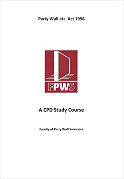 Picture of A CPD Study Course - Party Wall etc. Act 1996 FPWS