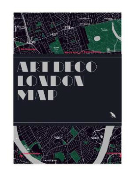 Picture of Art Deco London Map