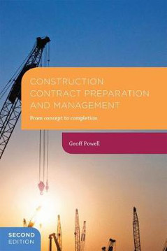 Picture of Construction Contract Preparation and Management: From concept to completion