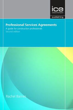 Picture of Professional Services Agreements Second edition: A Guide for Construction Professionals
