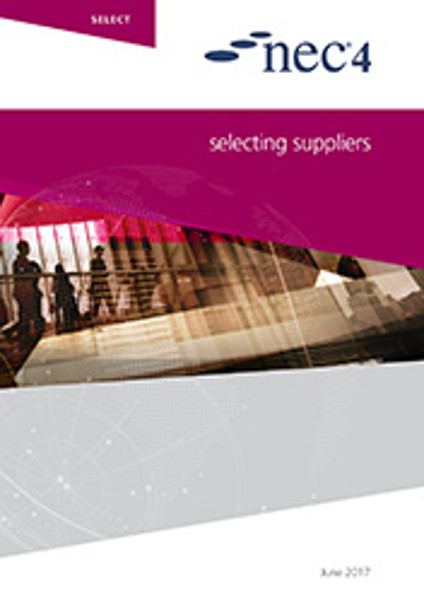 Picture of NEC4: Selecting a Supplier