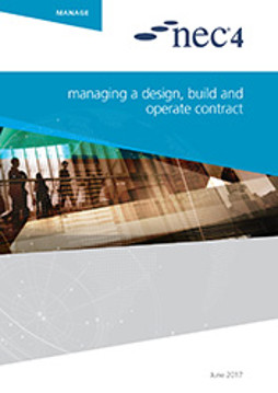 Picture of NEC4: Managing a Design Build and Operate Contract