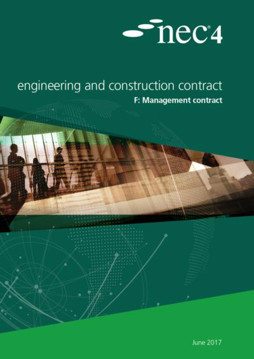 Picture of NEC4: Engineering and Construction Contract Option F: management contract