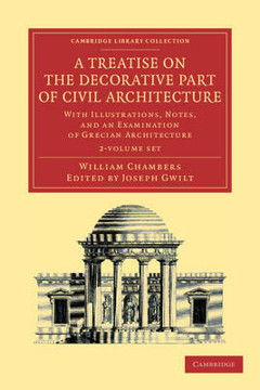 Picture of A Treatise on the Decorative Part of Civil Architecture 2 Volume Set: With Illustrations, Notes, and an Examination of Grecian Architecture