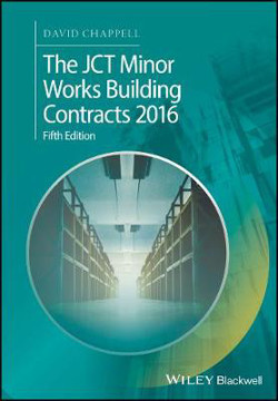 Picture of The JCT Minor Works Building Contracts 2016