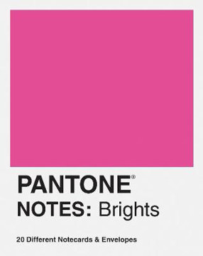 Picture of Pantone Notes: 20 Different Notecards & Envelopes