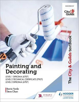 Picture of The City & Guilds Textbook: Painting and Decorating for Level 1 and Level 2