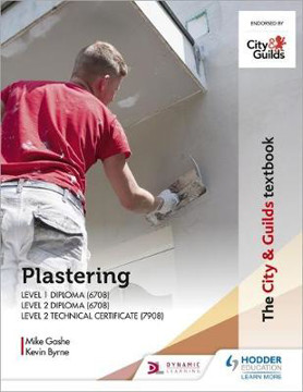 Picture of The City & Guilds Textbook: Plastering for Levels 1 and 2