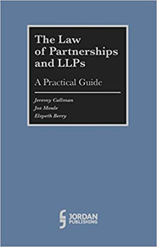 Picture of The Law of Partnerships and LLP's:: A Practical Guide
