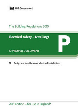 Picture of Approved Document P: Electrical Safety - Dwellings (2013 Edition - for use in England)