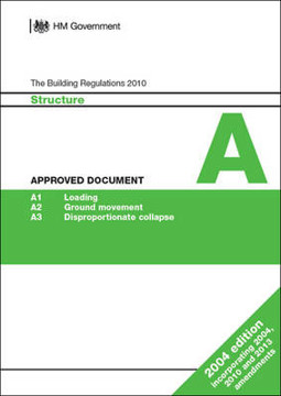 Picture of Approved Document A: Structure 2013 (2004 edition incorporating 2010 and 2013 amendments)