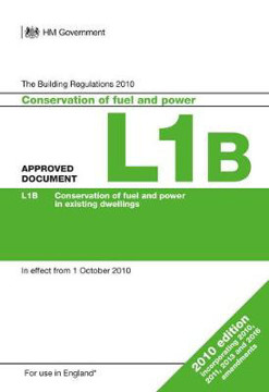 Picture of Approved Document L1B: Conservation of fuel and power in existing dwellings