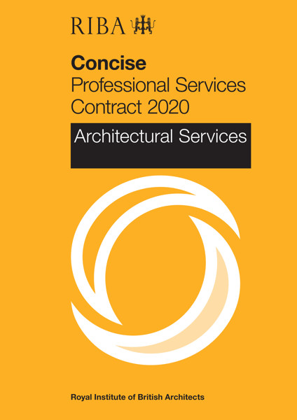 Picture of RIBA Concise Professional Services Contract 2020 : Architectural Services