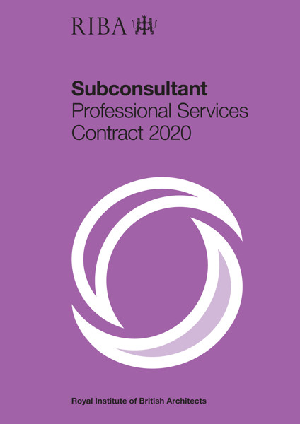 Picture of RIBA Subconsultant Professional Services Contract 2020