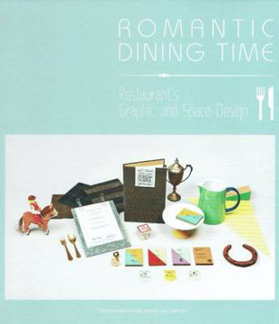 Picture of Romantic Dining Time: Restaurant's Graphic and Space Design