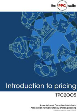 Picture of Introduction to Pricing Under TPC2005