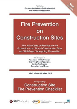 Picture of Fire Prevention on Construction Sites 9th edition + checklist