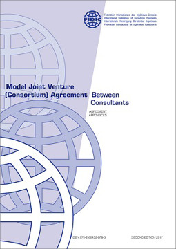 Picture of FIDIC 2017 (FG-JV-B-AA-10) Model Joint Venture (Consortium) Agreement 2nd Edition 2017