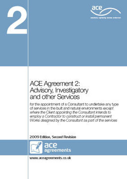 Picture of ACE Agreement 2: Advisory, Investigatory and Other Services: 2009