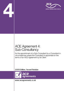 Picture of ACE Agreement: No. 4