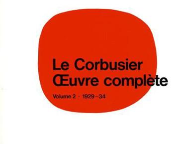 Picture of Le Corbusier - OEuvre complete Volume 2: 1929-1934: Volume 2: 1929-1934