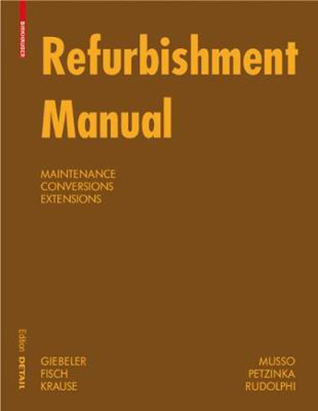 Picture of Refurbishment Manual: Maintenance, Conversions, Extensions
