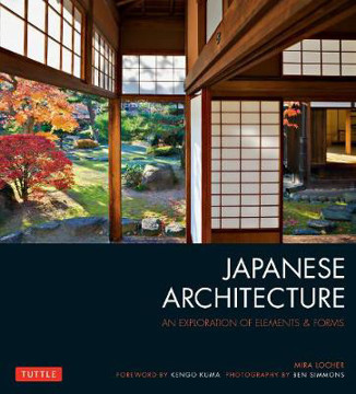 Picture of Japanese Architecture: An Exploration of Elements & Forms