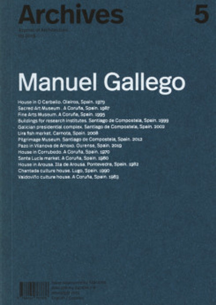 Picture of Archives 5: Manuel Gallego