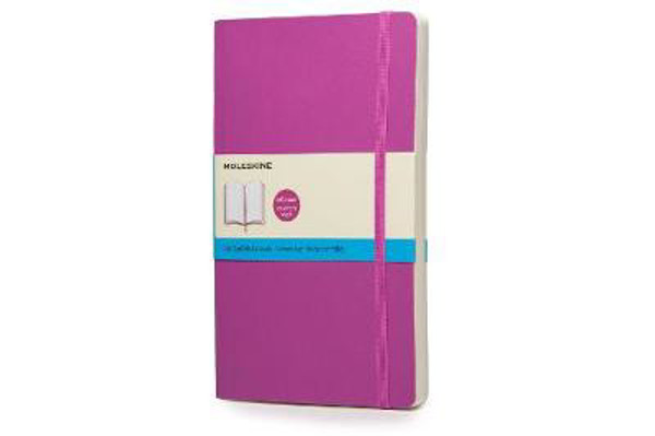 Picture of Moleskine Soft Large Orchid Purple Dotted Notebook