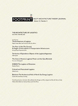 Picture of Footprint 23 - The Architecture Of Logistics