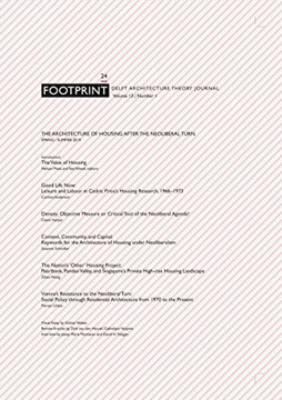 Picture of Footprint 24 - The Architecture of Housing after the Neoliberal Turn